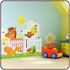 stickers pour chambre d enfant stickers animaux de la ferme un kit stickers ferme pour chambre