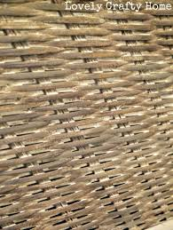 grey brown washed wicker how to furniture i love pinterest