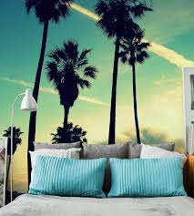 transform your space with tropical inspired wall murals from eazywallz your plain walls can be painted with flowers flamingos botanical prints and palm trees