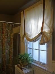 Curtains With Ribbons Designing Domesticity So Easy No Sew Curtain Update