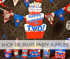 dr seuss party supplies thing 1 thing 2 dr seuss party