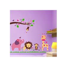 popular elephant wall stickers for nursery buy cheap pieces jungle animals giraffe lion monkey elephant wall stickers for kids rooms sticker nursery