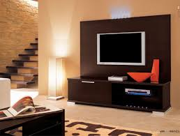 Modern Tv Stands White Creative Tv Stand Ideas Brown Varnished Wood Tv Wallpaper Creamy