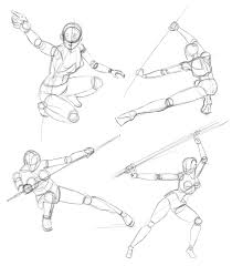 action poses quick 20sec sketches art tips pinterest action