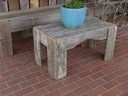 Old Wooden Coffee Tables by Old Wood Coffee Table Recycled Wood Table Patio Table 3 Ft