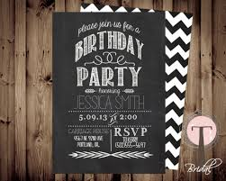 21st birthday party invitation templates pennywise it 2017