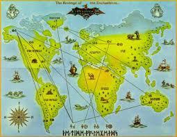 Final Fantasy World Map by 8 Bit City Ultima Ii Box And World Map