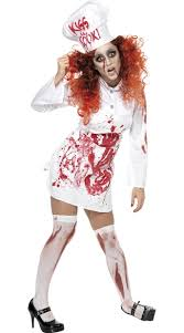 Scary Womens Halloween Costumes Chef Zombie Costume Scary Zombie Halloween Costume Zombie
