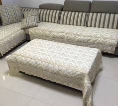 Sofa Cover For Reclining Sofa Furniture Minimize Amount Of Fabric You Need To Tuck With