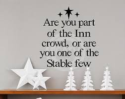 The Stable Home Decor Set Of 2 Diy Christmas Shadow Box Vinyl Only Away In A