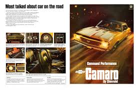 1970 camaro value 45 awesome vintage chevrolet camaro ads feature car and driver