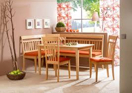Nook Dining Set August Grove Birtie  Piece Breakfast Nook Dining - Kitchen table nook dining set
