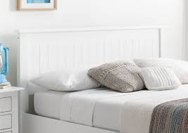 White Wooden Headboard White Wooden Ottoman Storage Bed