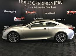 lexus rc 300 white pre owned 2017 lexus rc 300 demo unit f sport series 1 2 door