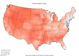 how do you say map in dialect maps how speak differently across the
