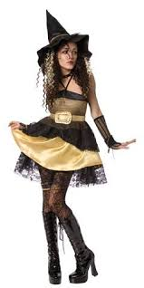 Witch Halloween Costumes Women Gold Witch Costume 29 99 The Costume Land