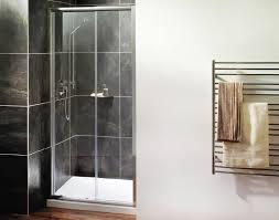 Shower Sliding Door Bathroom Modern 3 Panel Sliding Shower Door Frameless In The