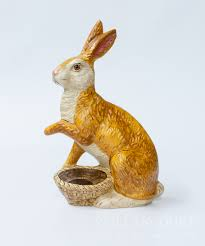 classic rabbit classic rabbit with paw out from vaillancourt