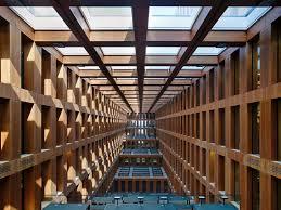 architektur berlin fenster der leseterrassen im jacob und wilhelm grimm zentrum der