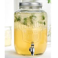home essentials and beyond del sol cooling station glass drink