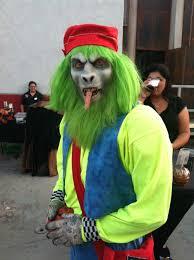 Six Flags Fear Fest Monkey Jpg