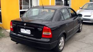 2001 holden astra ts cd black 5 speed manual sedan youtube