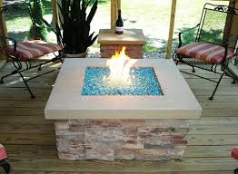 Glass Firepit Amusing Glass Pit Stones Pits Ideas Marvelous Gas With