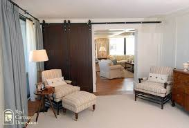 interior sliding barn doors on master bedroom bedroom seattle