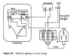 refrigerator circuit diagram circuit and schematics diagram