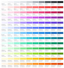 color cheme open color ui optimized color scheme for designers hongkiat
