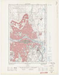Calgary Alberta Canada Map by Calgary U0026 Area Digital Historic Maps Libguides At University