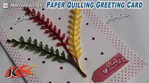 how to make christmas cards diy paper quilling greeting card