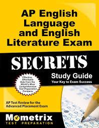 ap english language and english literature exam secrets study