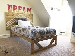 How To Build A Wood Platform Bed by Diy Modern Platform Bed Shanty 2 Chic
