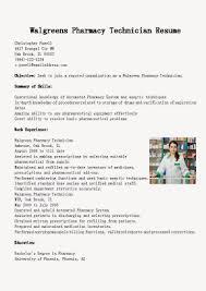 Sample Pharmacy Tech Resume Mail Order Pharmacist Sample Resume