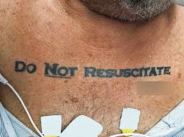 his said do not resuscitate doctors wanted another