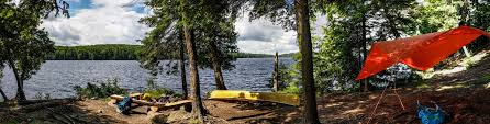 Algonquin Park Interior Camping First Campsite On A Four Nighter Last Week On Burnt Island Lake In