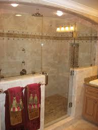 small bathroom ideas with walk in shower vessel shape bathtub