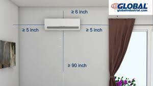 mitsubishi mini split air conditioner inverter installation u2013 best air 2017
