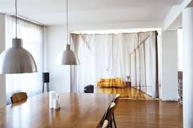 Fabric Room Divider Look Trompe L Oeil Curtain Room Divider Apartment Therapy