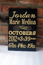 Baby Plaques Personalized 24 Best Baby Birth Signs Images On Pinterest Baby Birth Nursery