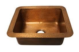 Eclectica Loire Copper Kitchen Sink Sinks - Cooper kitchen sink