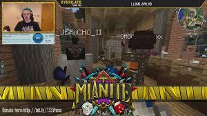 captainsparklez house in mianite minecraft mianite triiiiaaalll theantifapflap s2 e5 youtube