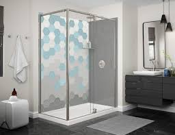 designer bathroom wallpaper hexa wallpaper designer series waterfall modern bathroom