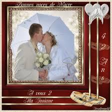 42 ans de mariage cadeau anniversaire de mariage 42 ans votre heureux photo