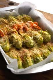 ricette con fiori di zucchina al forno fiori di zucca ripieni di ricotta un pizzico di