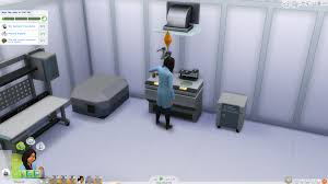 the sims 4 get to work first day at the scientist career sims