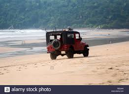 beach jeep surf lifeguard jeep at agonda beach in india goa surf life saving