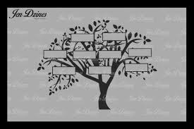 family tree 9 names svg dxf eps png by jen dzines thehungryjpeg com