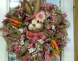 Cute Easter Door Decorations by 189 Best Easter Wreaths Images On Pinterest Easter Wreaths